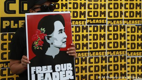 Myanmar citizens have been protesting against the military takeover since early February