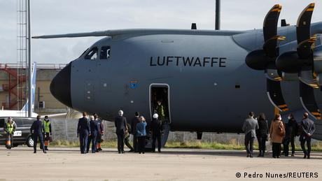 German army medics flew to Portugal in early February to help fight the COVID-10 pandemic