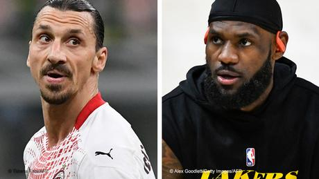 Zlatan Ibrahimovic has suggested LeBron James should concentrate on playing basketball