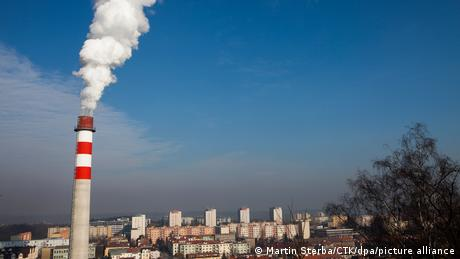 Combined heat and power stations powered by coal are common in the Czech Republic