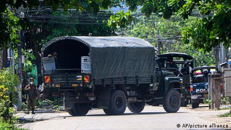 Authorities in Myanmar are trying to suppress anti-coup protests