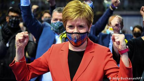 Scottish National Party leader Nicola Sturgeon may have a long way to go in her fight for independence
