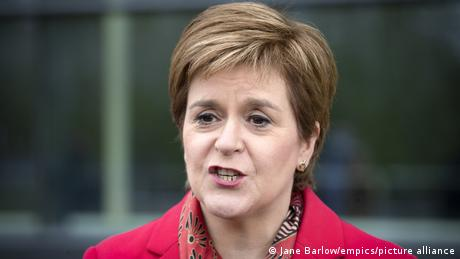 Scottish First Minister Nicola Sturgeon says UK Prime Minister Johnson will have to go to court to block indyref2