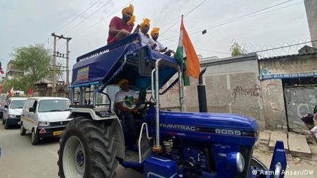 Indian farmers at Tikri border station say they won't give up the fight against the government's agricultural reforms