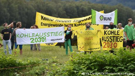 Hundreds of people from the Czech Republic, Germany and Poland protested against the planned extension of the Polish Turow lignite mine last year