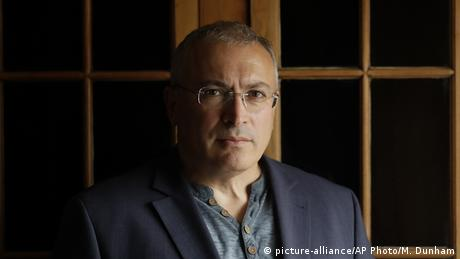 Exiled Putin critic Mikhail Khodorkovsky is the founder of Open Russia