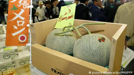 Yubari is famous for the quality of its melons, which are known as a delicacy and a symbol of the imminent arrival of summer