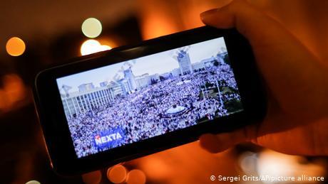The Telegram channel became a vital source of information during mass portests in Belarus