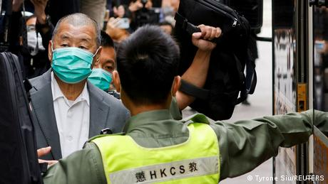Hong Kong's Jimmy Lai faces several charges related to his pro-democracy activism