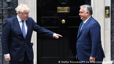 Orban's visit to London met with criticism