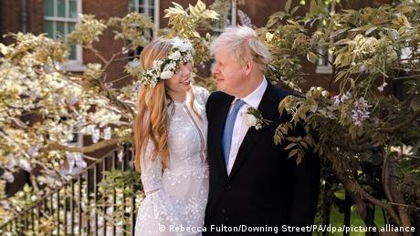 Carrie Symonds and Boris Johnson were married in a small, private ceremony