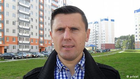 DW reporter Alexander Burakov has been arrested three times over the past year