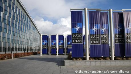 The ministers' meeting is the last before a NATO summit later in June