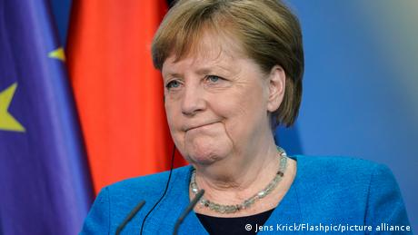 """While Merkel and Macron urged for answers, the German chancellor said she was """"reassured"""" with Denmark's response"""