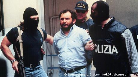 Giovanni Brusca was arrested in 1996