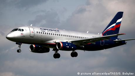 Germany suspends incoming flights from Russian airlines