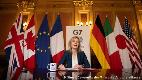 British International Trade Secretary Liz Truss
