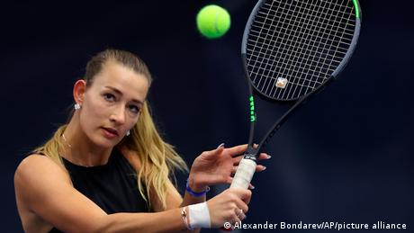 Yana Sizikova was arrested on Thursday to answer questions about match-fixing allegations.
