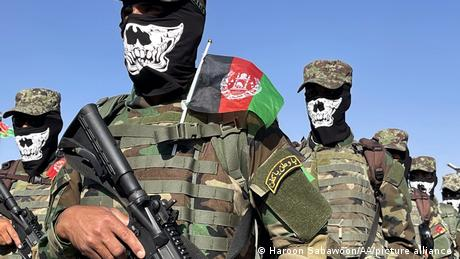 Afghan special forces in the capital Kabul