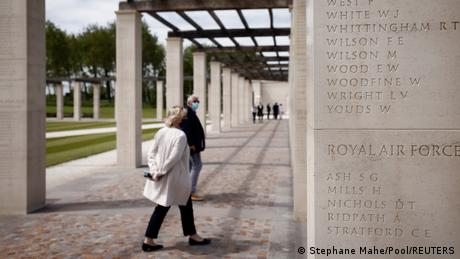 """Britain's """"overdue"""" D-Day memorial to war dead at Ver-sur-Mer in Normandy, France"""