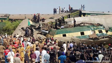 Pakistan seesfrequent train accidents, as little attention has been paid to the maintenance of the railway network
