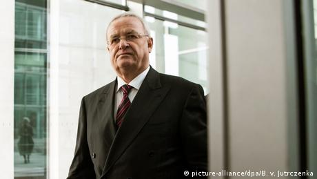Martin Winterkorn stepped down as VW boss in 2015 after the 'dieselgate' scandal came to light
