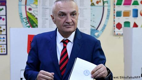 Albanian President Ilir Meta has frequently feuded with Prime Minister Edi Rama's Socialist government