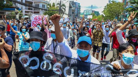 The EU has backed ASEAN in taking the lead on mediation in Myanmar