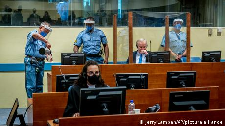 Ratko Mladic had appealed the life sentence handed down in 2017