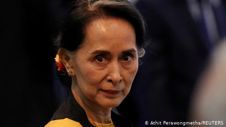 The military junta has laid several charges against the former democratically elected leader