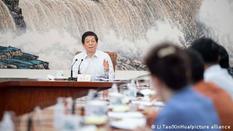 Chinese lawmakers at the Standing Committee of the NPC, led by Li Zhanshu, passed the new anti-sanctions law Thursday