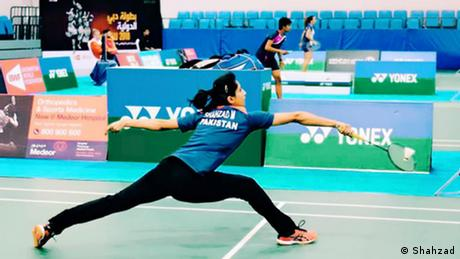 Mahoor Shahzad, 24, is Pakistan's first ever badminton player to qualify for the Olympics