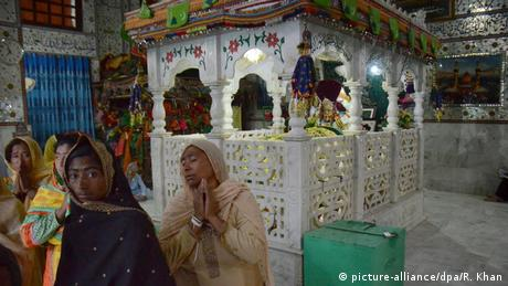 The pilgrims were returning from a shrine of a Sufi saint when the bus crashed