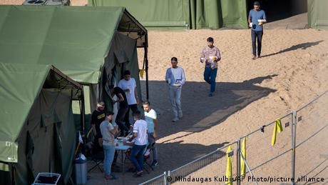 Lithuania has declared a state of emergency due to the influx and built new camps for the migrants