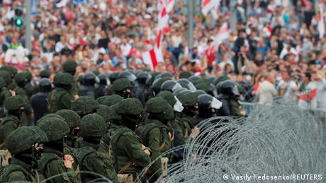 Media outlets covering the protests in Belarus have been targeted since August 2020