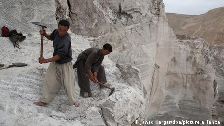 With almost no mining industry infrastructure in place, it would take Afghanistan decades to fully exploit its mineral wealth