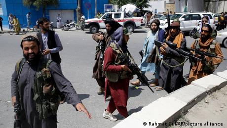 The Taliban took Kabul much more quickly than Western forces expected