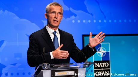 Jens Stoltenberg spoke with DW after a virtual NATO foreign ministers' meeting