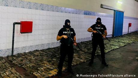 The cocaine was found on Thursday night in Mojanovici, a suburban village near the capital Podgorica