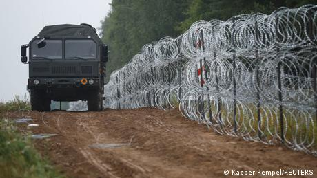 Poland has been fortifying its border to Belarus, as Minsk stands accused of intentionally steering irregular migrants towards its neighbors' territor...