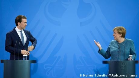 The leaders gave a joint press conference before the talks