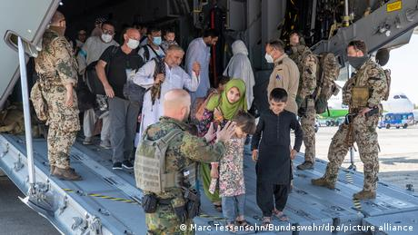 Several EU member states were involved in the scramble to evacuate citizens and local Afghan supporters from Kabul