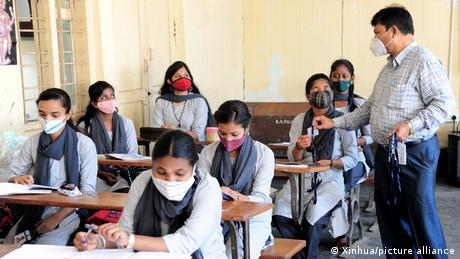Indian schools are reopening with strict protocols in place