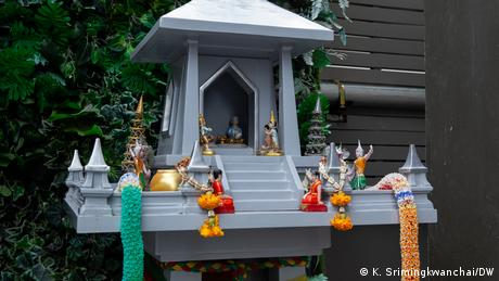 In Thailand, these structures are built to please spirits believed to bless homes