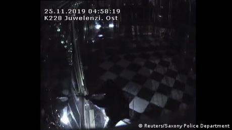 Thieves had broken into the Green Vault museum in the early hours of November 25, 2019