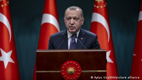 Turkey's President Erdogan has angered many Turks by seeming to cozy up to the Taliban