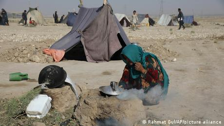The UN has warned  that 18 million people in Afghanistan face the threat of a humanitarian disaster