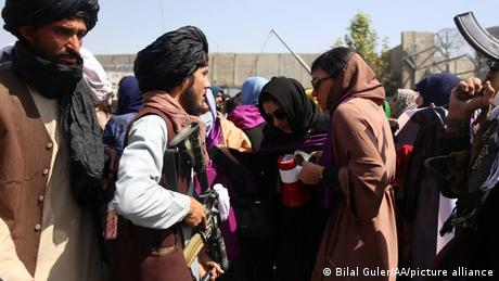 Saturday's protest was the second by women calling for the Taliban to preserve their rights