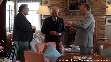 Michael Fawcett (right) has been one of Prince Charles' closest aides for decades