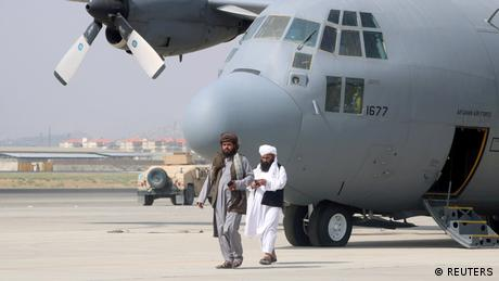 The Taliban have been in charge of the Hamid Karzai International Airport since the US troop withdrawal